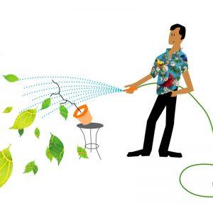 Water besparen tijdens het huishouden